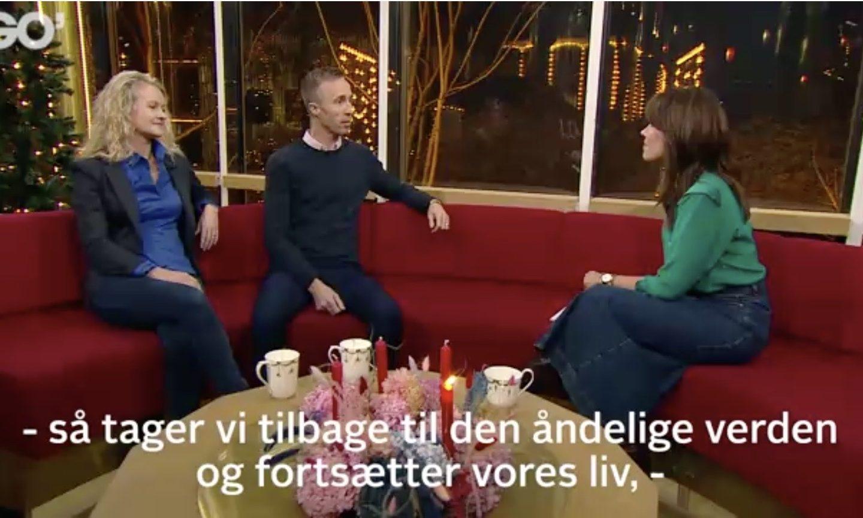 Stifterne af Spiritismens Trossamfund gæster Go' Morgen Danmark på TV2