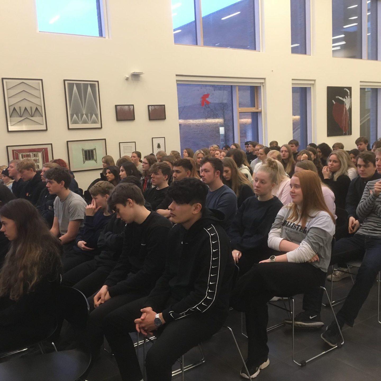 Besøg på Midtsjællands Gymnasium